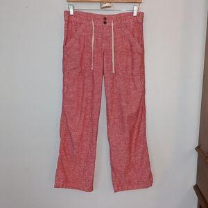 Patagonia Island Hemp Red Pants Size 4